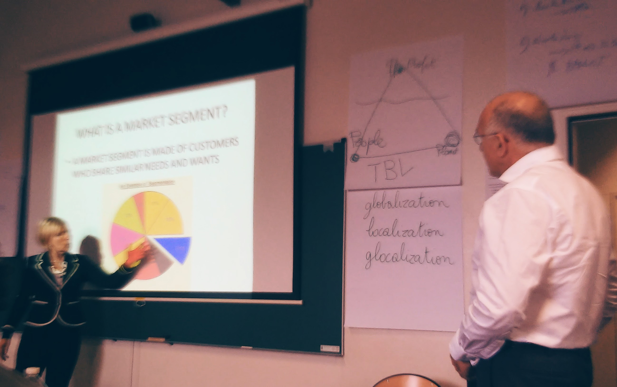 Learning business at Sorbonne